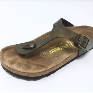 Single Birkenstock Gizeh Sandal 37